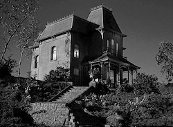The Bates home from Psycho