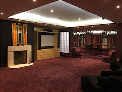 Entertainment Room at Prince's former Toronto home